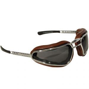 lunettes moto Baruffaldi EASY RIDER CHOCOLAT