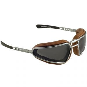lunettes moto Baruffaldi EASY RIDER CUIR CLAIR