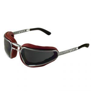 lunettes moto Baruffaldi EASY RIDER ROUGE