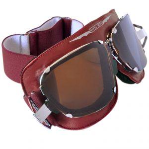 lunettes moto Baruffaldi SUPERCOMPETITION ROUGE RUBIS
