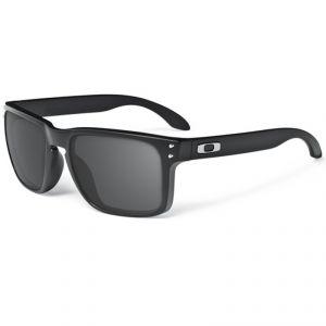 lunettes de soleil Oakley HOLBROOK MATTE BLACK/WARM GREY