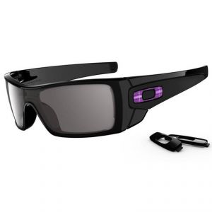 Lunettes de soleil Oakley BATWOLF POLISHED BLACK/WARM GREY