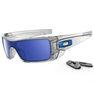 Lunettes de soleil Oakley BATWOLF POLISHED CLEAR/ICE IRIDIUM