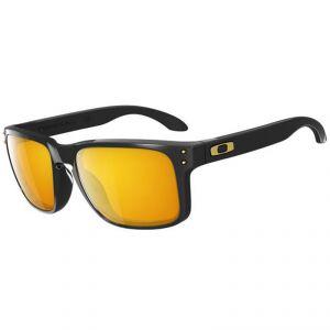 lunettes de soleil Oakley HOLBROOK POLISHED BLACK/24K IRIDIUM