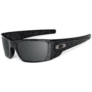 lunettes de soleil Oakley FUEL CELL POLISHED BLACK/GREY HISTORY TEXT