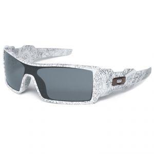 lunettes de soleil Oakley OIL RIG WHITE/TEXT PRINT