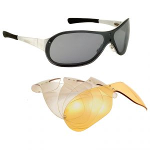 lunettes moto Baruffaldi MAGYR MAGNET ARGENT