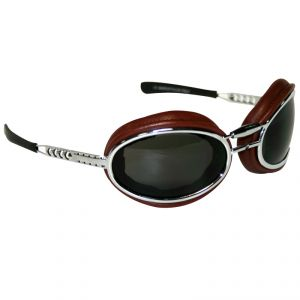 lunettes moto Baruffaldi SFERICUM PAD CHOCOLAT