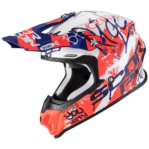 VX-16 AIR - ORATIO - MATT WHITE BLUE RED