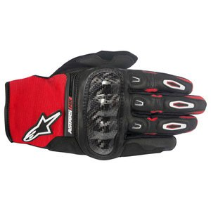 Gants cross Alpinestars MEGAWATT BLACK RED WHITE 2017