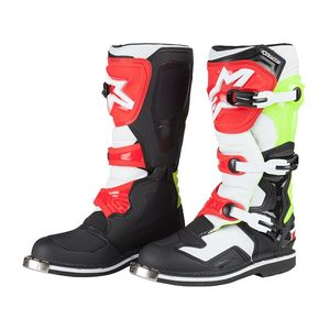 Bottes cross Alpinestars TECH 1 BLACK WHITE YELLOW FLUO 2017