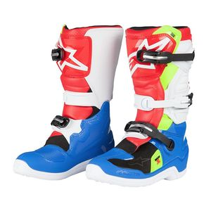 TECH 7S BLUE WHITE RED YELLOW FLUO ENFANT
