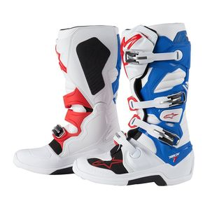 Bottes cross Alpinestars TECH 7 WHITE/BLUE/RED
