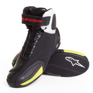 Demi-bottes Alpinestars SP-1 - Black/White/Red/Yellow