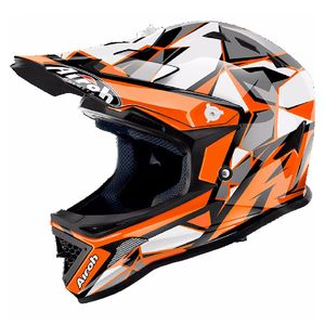 Casque cross Airoh ARCHER - CHIEF 2017 - ORANGE