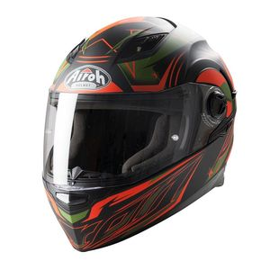 Casque Airoh destockage MOVEMENT MESH ORANGE MAT