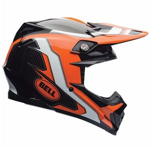 MOTO-9 CARBON FLEX - FACTORY ORANGE NOIR -