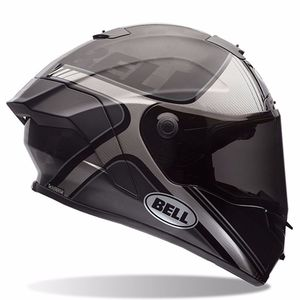Casque Bell PRO STAR - TRACER BLACK/SILVER