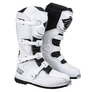 Bottes cross Shot X12 BLANC