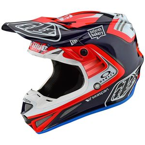 SE4 CARBON - FLASH TEAM - BLUE RED