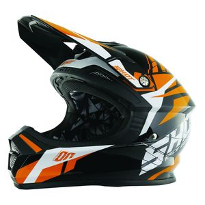 Casque cross Shot FURIOUS SQUAD ORANGE ENFANT 2017