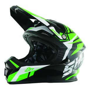 Casque cross Shot FURIOUS SQUAD VERT ENFANT 2017