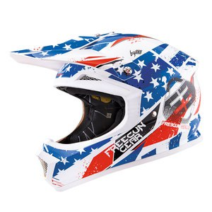 Casque cross Shot Déstockage XP4 LIBERTY ENFANT 2016