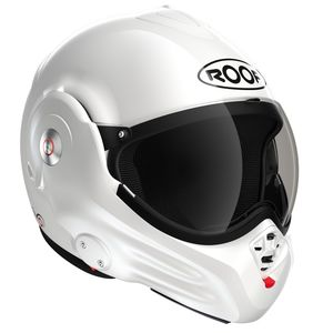 Casque ROOF RO32 DESMO UNI -NEW GENERATION Blanc