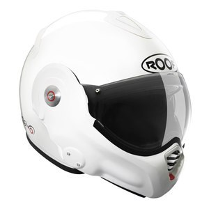 Casque ROOF RO32 DESMO UNI - 2EME GENERATION Blanc brillant