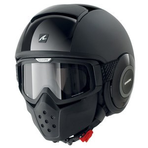 Casque Shark RAW DUAL BLACK