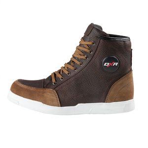 dc0bcbf001df Chaussures Moto Homme / Femme en cuir et semelle compensée ...