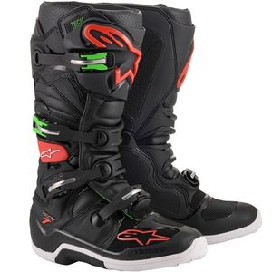 TECH 7 - BLACK RED GREEN