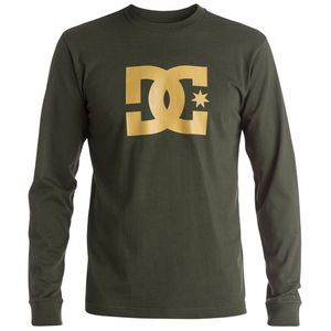 T-shirt manches longues DC Shoes STAR LS Olive