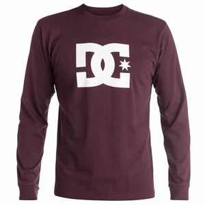 T-shirt manches longues DC Shoes STAR LS Red