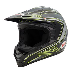 Casque cross Bell Déstockage SX-1 SONIC BLACK YELLOW 2015