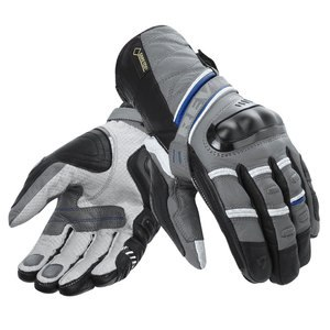 Gants Rev it DOMINATOR GORE-TEX Gris/Bleu