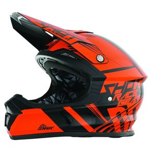 Casque cross Shot FURIOUS CLAW NEON ORANGE ENFANT 2017