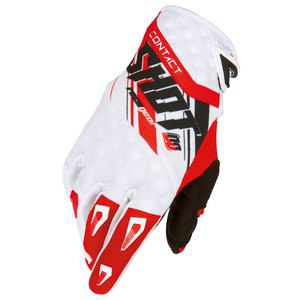 Gants cross Shot Déstockage CONTACT GENESIS GLOVE ROUGE 2016