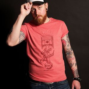 T-shirt manches courtes Gentlemen's Factory IRON HEAD