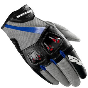 Gants Spidi FLASH-R Gris/Bleu