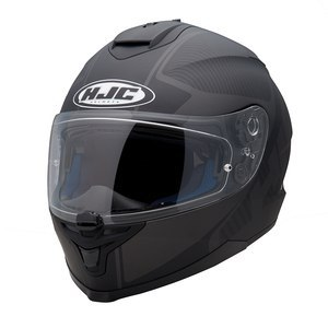 Casque Hjc IS 17 - MISSION Noir Mat/Gris