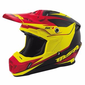 SC1 PHOENIX - BLACK/YELLOW/RED -