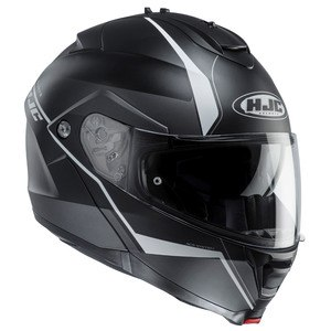 Casque Hjc IS MAX II - MINE Noir/Blanc