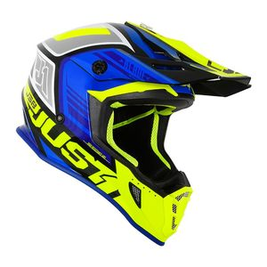 J38 BLADE BLUE/FLUO YELLOW/BLACK GLOSS