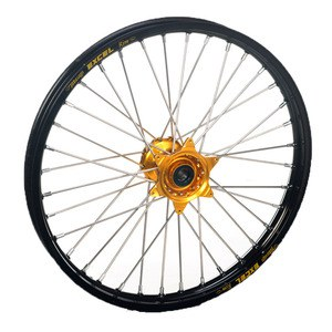 Roue Haan Wheels avant dimension 21x1.60 Noir/Or