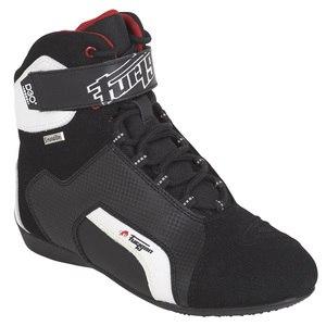 chaussures moto homme femme en cuir et semelle compens e. Black Bedroom Furniture Sets. Home Design Ideas
