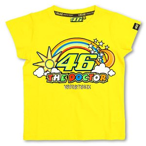 T-shirt manches courtes VR 46 YELLOW KID