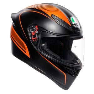 K-1 - WARMUP MATT - BLACK ORANGE