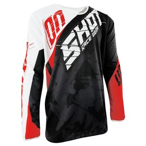 Maillot cross Shot DEVO SQUAD ROUGE 2017
