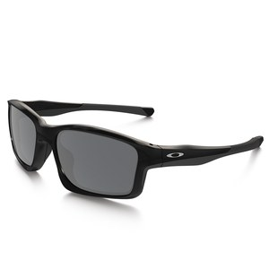 Lunettes de soleil Oakley CHAINLINK - POLISHED BLACK - BLACK IRIDIUM